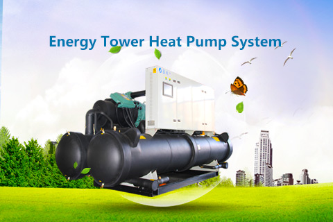 Energy Tower Heat Pump System